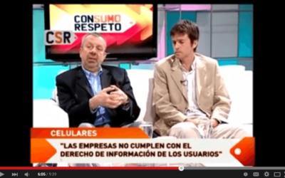 La telefonía celular en la Argentina (Programa Consumo Respeto)