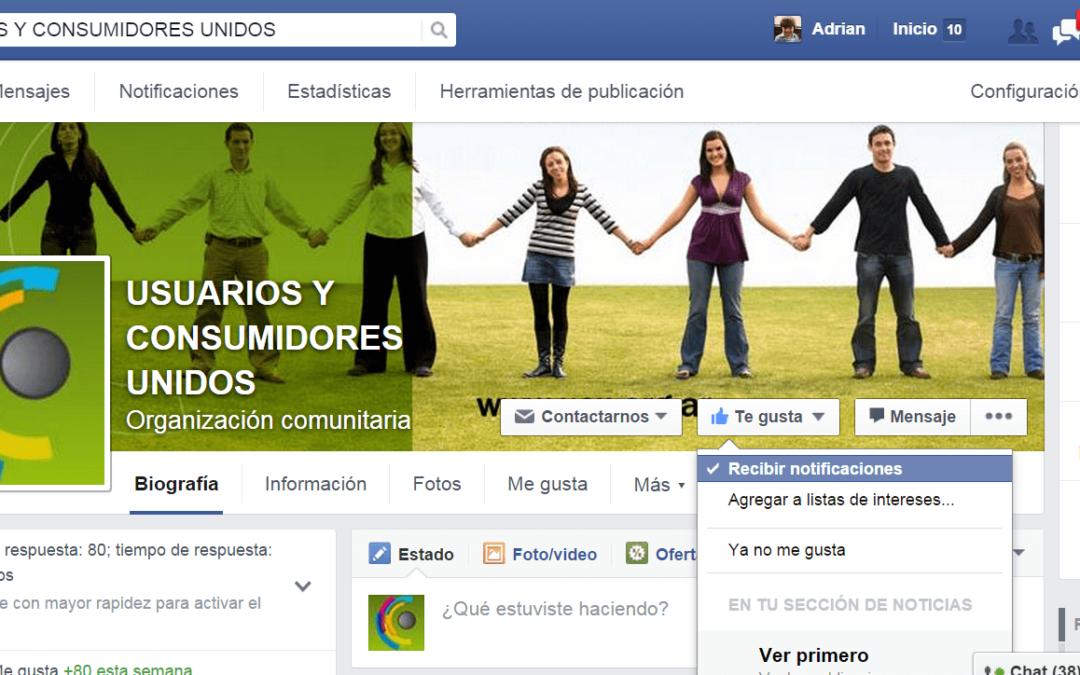 ¿Sabías que facebook no te muestra todas las publicaciones de las páginas que te gustan?