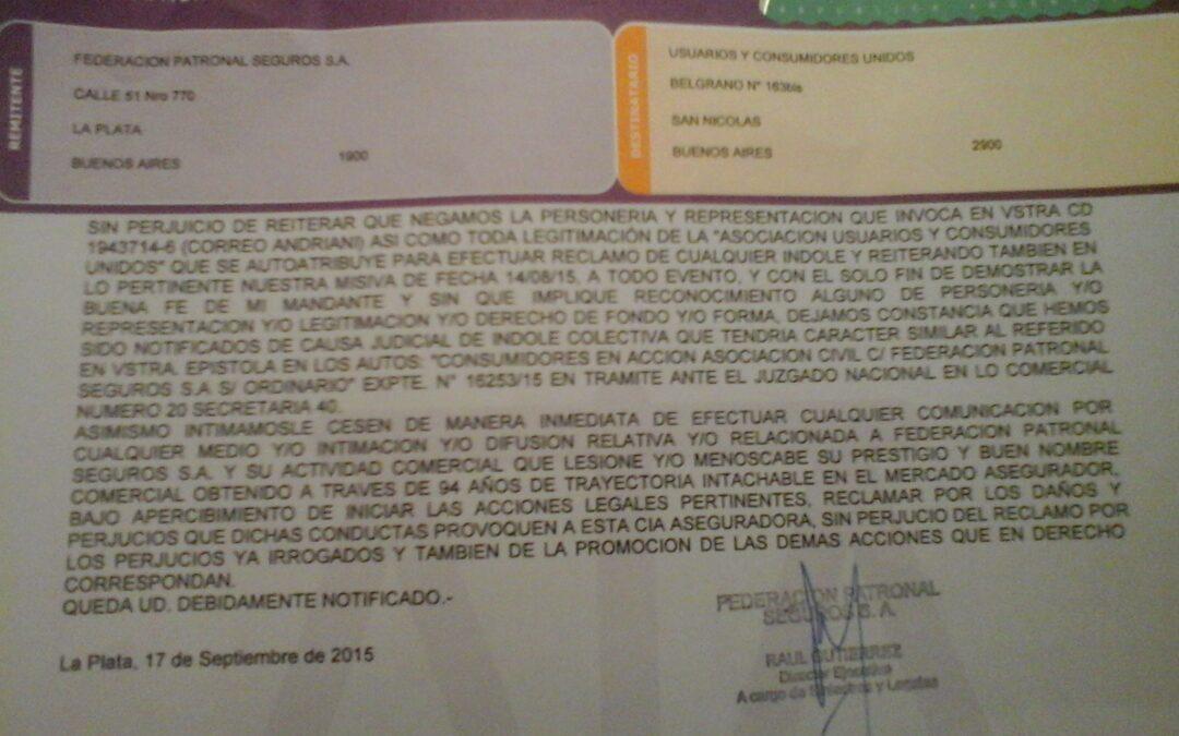 Federación Patronal pretende callar a UCU