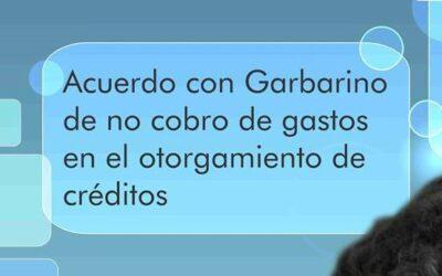Garbarino no cobrará más gastos por otorgamiento de crédito (acuerdo con UCU)
