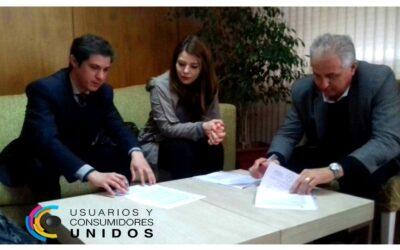 Convenio de colaboración entre Usuarios y Consumidores Unidos y el Defensor del Pueblo de la Provincia de Córdoba