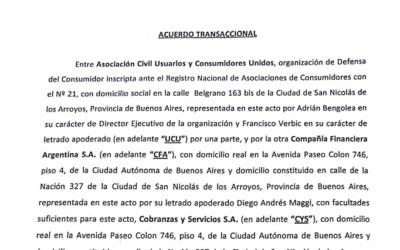 UCU LOGRA ACUERDO TRANSACCIONAL CON EFECTIVO SÍ Y BANCO DE GALICIA