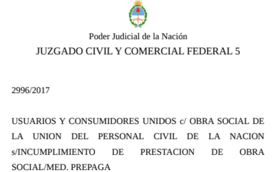 La justicia interviene Unión Personal en el marco de una acción colectiva iniciada por UCU