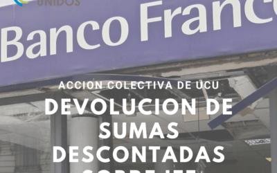 Ordenan al BBVA Francés el cese de descuentos sobre el IFE y la devolución inmediata del dinero a los clientes afectados.